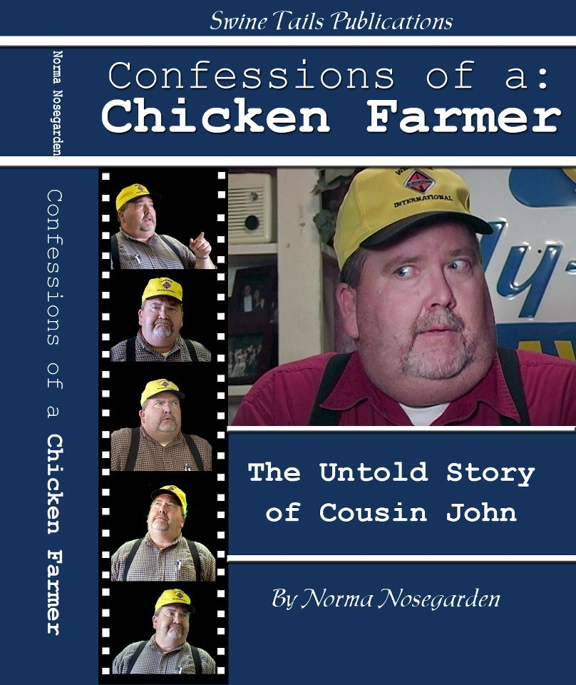 Author/ Waitress Nosey Norma spills the beans on Cousin John!