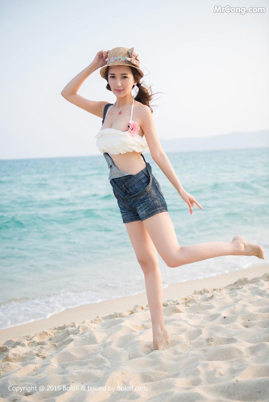 BoLoli 2017-09-06 Vol.112: Người mẫu Xiao Pan Shu (小潘鼠) (41 ảnh)