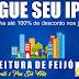 Prefeitura de Feijó oferece até 100% de desconto no pagamento do IPTU