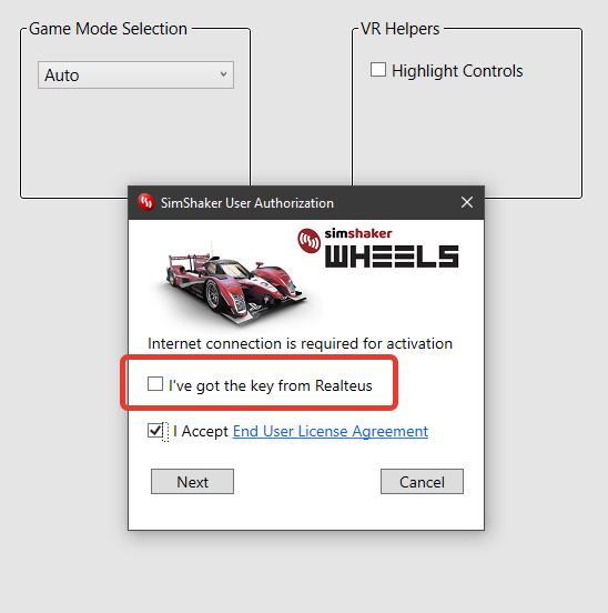 Andre's Blog: SimShaker - Wheels User Guide