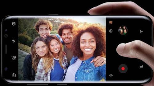 Kamera Depan Samsung Galaxy S8 Plus