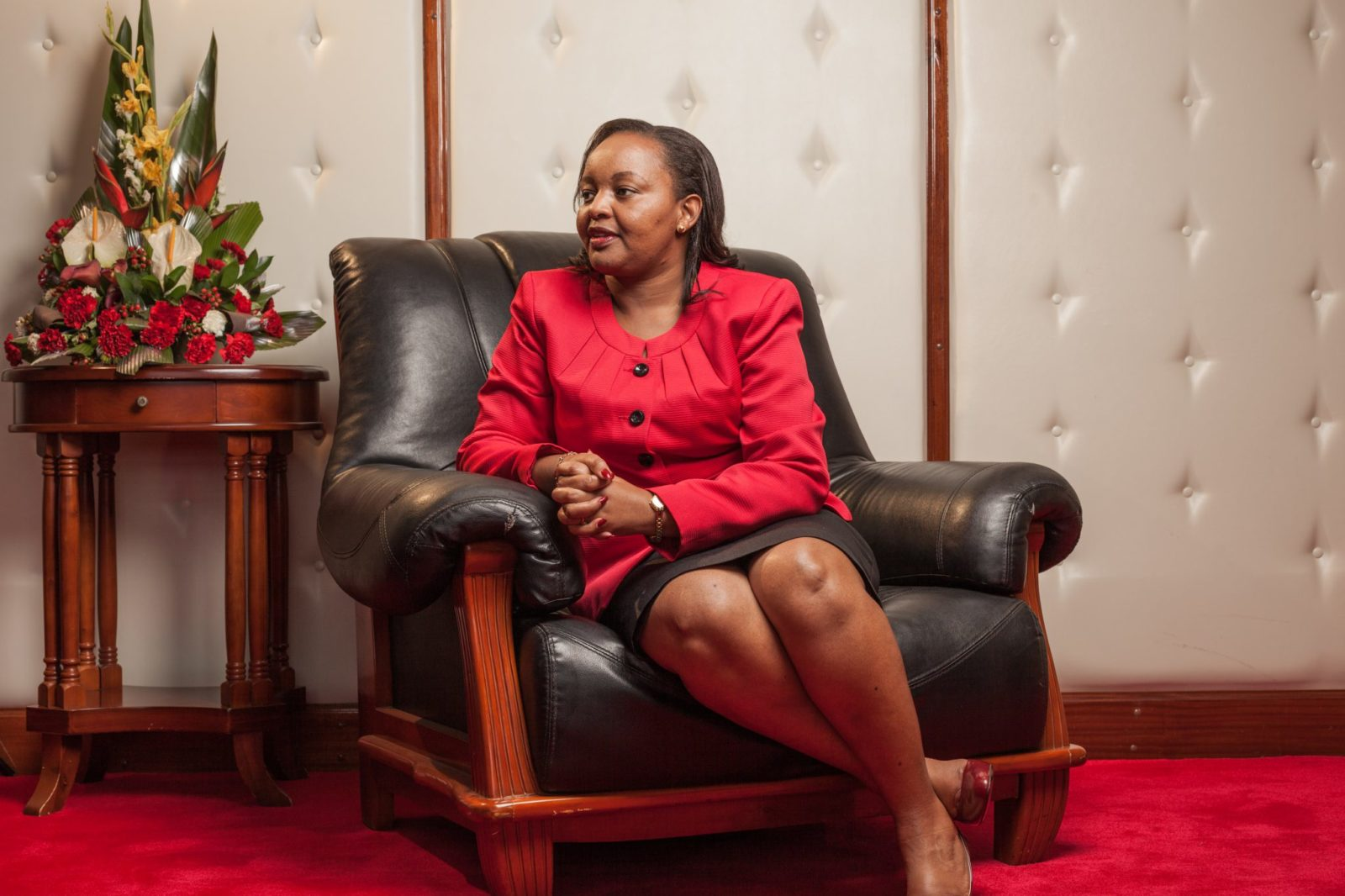 Truce As Anne Waiguru Faces Raila Odinga