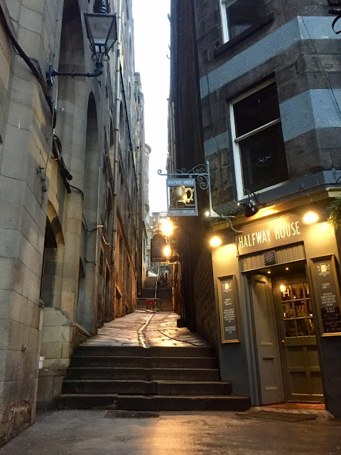 Fleshmarket Close, Edinburgh, Scotland