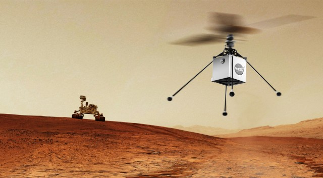 NASA Mars Helicopter Technology