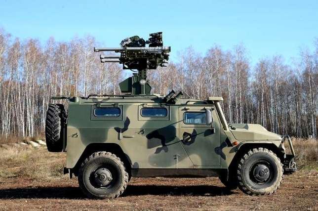 Kendaraan pertahanan udara Rusia Gibka-S