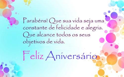 Parabéns E Felicidades Cunhada: Feliz Aniversário, E Meus Parabéns
