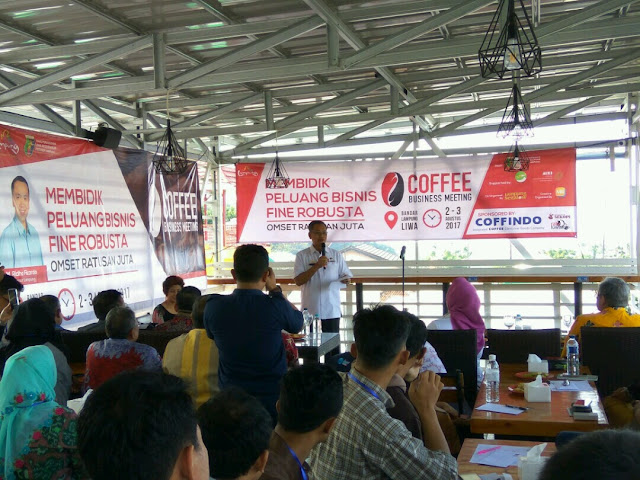 Pangsa Pasar Kopi Menjanjikan, Pebisnis Kopi Didukung Gubernur Lampung.