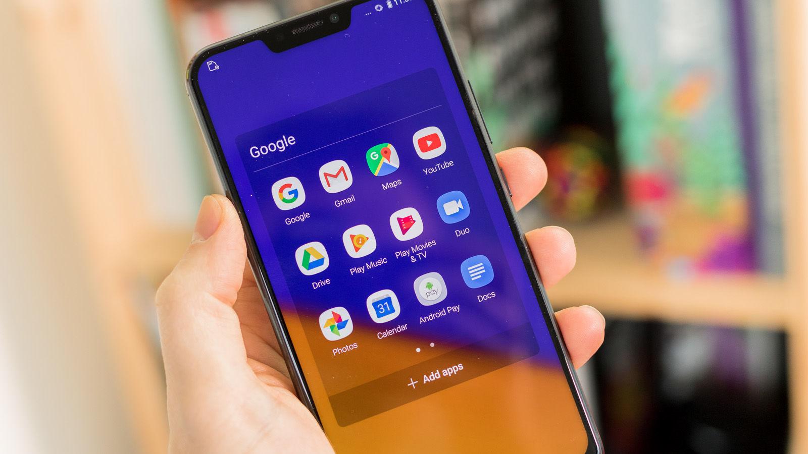 zenfone 5 tela de apps