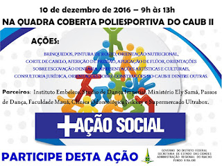 Ação Social no Riacho Fundo II