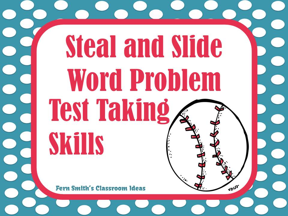 Test Taking Skills with Steal and Slide Activities