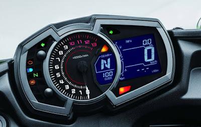 2017 Kawasaki Ninja 650 ABS speedo mitor