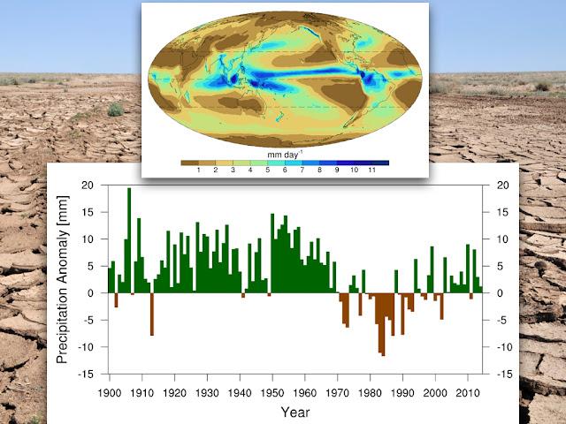 Manmade aerosols identified as driver in shifting global rainfall patterns