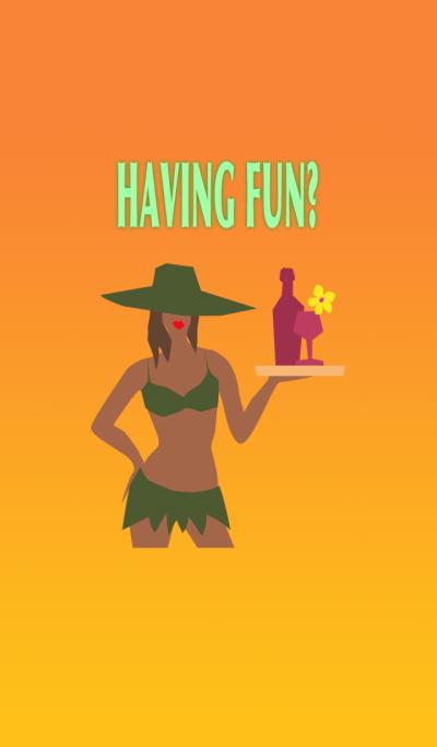 HAVING FUN? ~tropical lady~