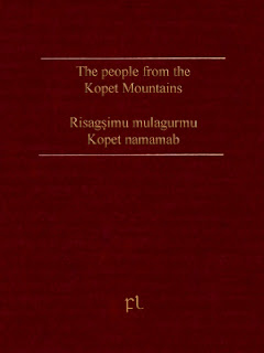 The people from the Kopet Mountains - Risagşimu mulagurmu Kopet namamab Cover