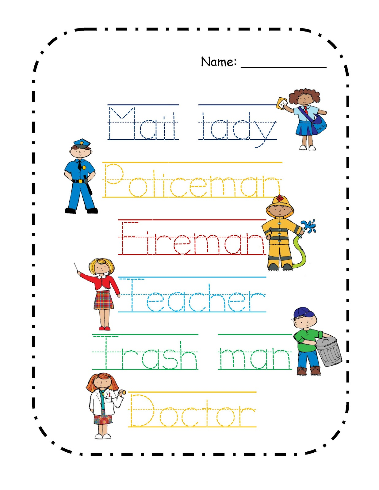 Preschool Printables June