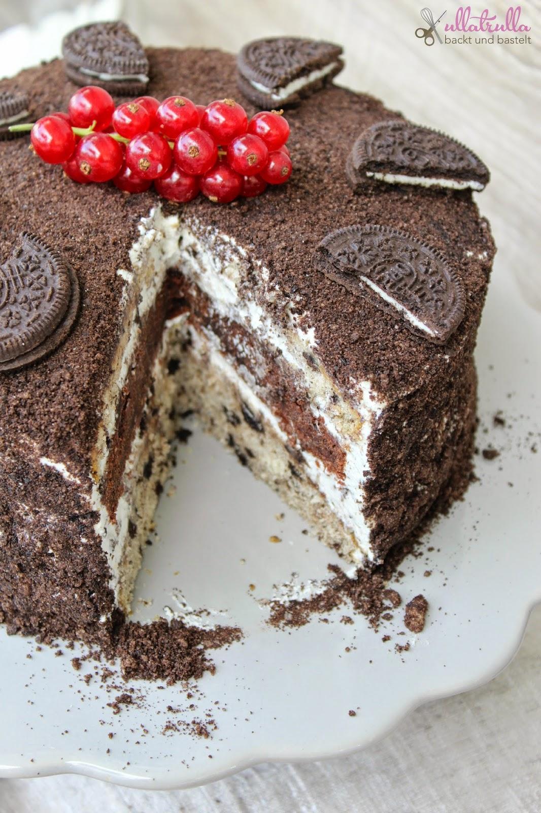 Ullatrulla Backt Und Bastelt Oreo Torte Die Beste Torte Die Ich