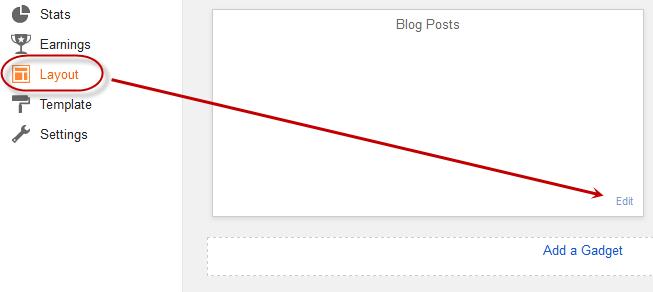 Adsense to Blogger Website