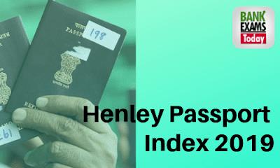 Henley Passport Index 2019: Highlights