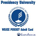 Presidency University Recruitment 2017