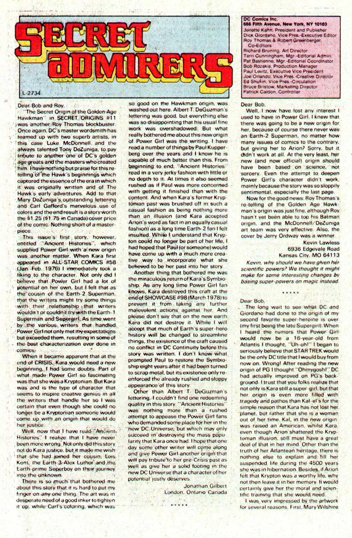 Read online Secret Origins (1986) comic -  Issue #16 - 20