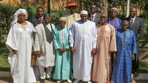 Gambian President, Adama Barrow Appoints and Swears-in 10 Ministers