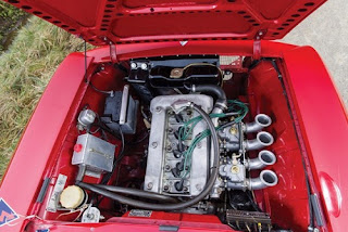 1965 Alfa Romeo Giulia Sprint GTA Engine