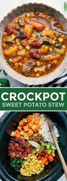Crockpot Sweet Potato Stew