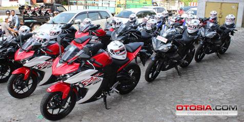 Puluhan Penginden Yamaha R25 Masih Antri di Belitung