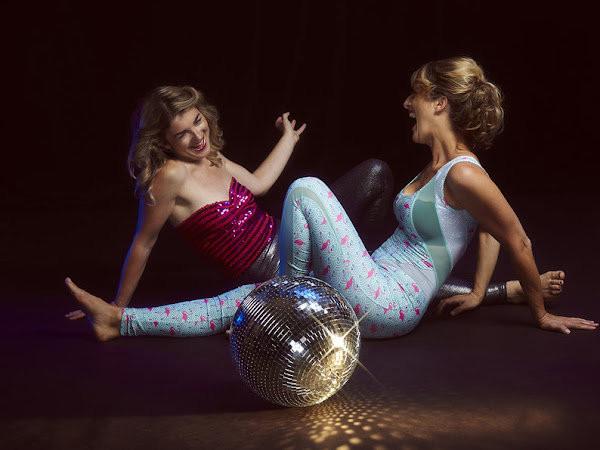 DISCO YOGA IS MY NEW FAVOURITE KIND OF YOGA