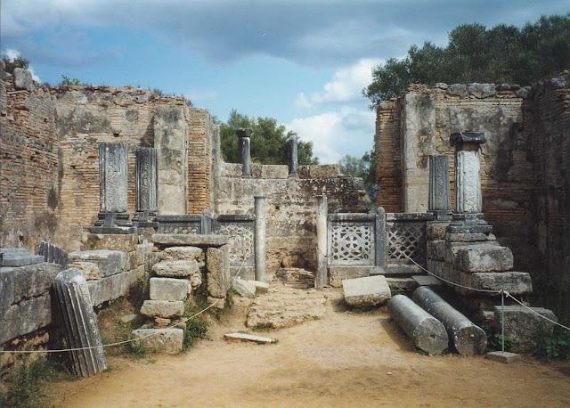 Phidias' workshop at Olympia    Photo Alun Salt 2005
