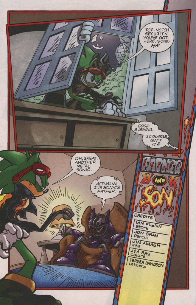 Read online Sonic The Hedgehog comic -  Issue #192 - 21
