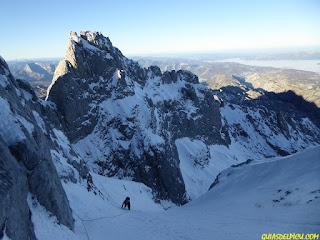 guias de alta montaña en Picos de Europa Corredor del marques