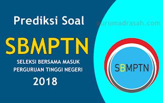 Latihan Soal SBMPTN Tahun 2018