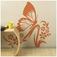 BUTTERFLY VINYLS FOR BEDROOMS - IDEAS TO DECORATE A GIRLS BEDROOM WITH BUTTERFLIES