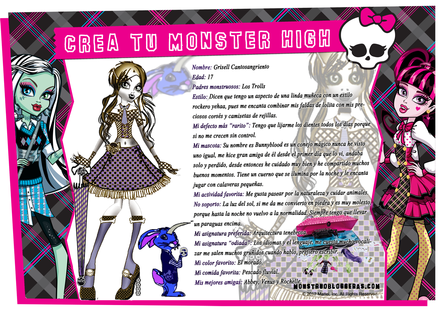 Monster High Libros Monster High Quede Finalista En El Concurso De