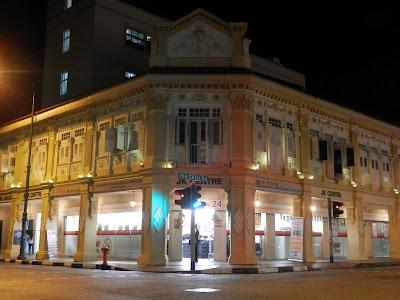 visite de Katong à Singapour