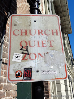 Church Quiet Zone in Pirate's Alley