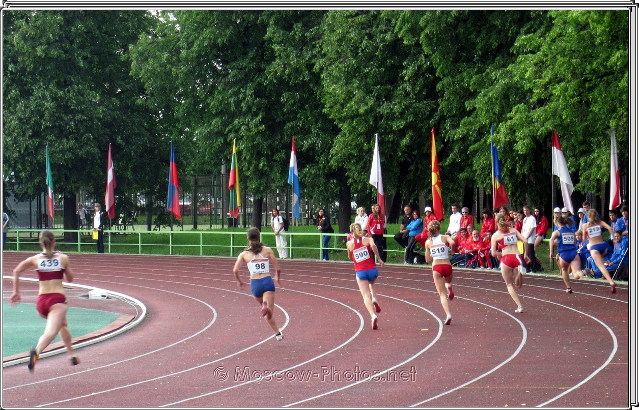 Sprint at European Youth Olympic Trials 2010