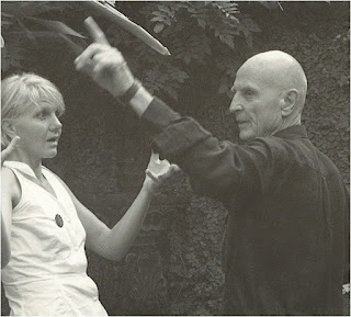 Image: Robert Livingstron Roshi Teaching in His Garden