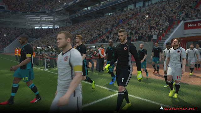 Pro Evolution Soccer (PES) 2017 Gameplay Screenshot 2