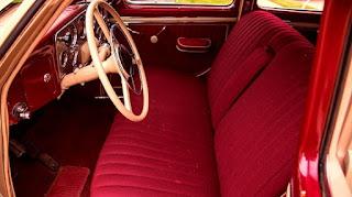 1937 Cord 812 Beverly Sedan Interior
