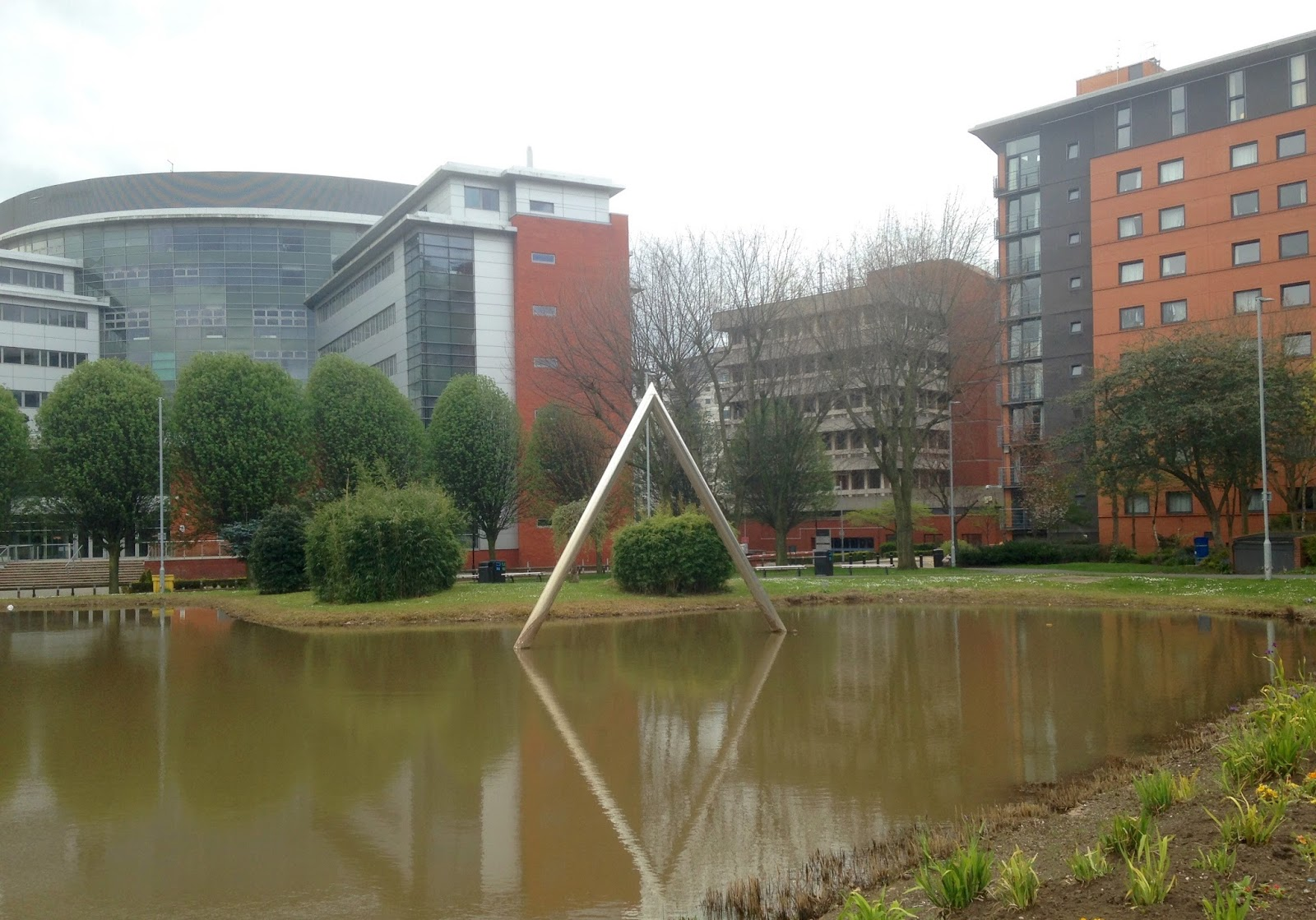 Aston University, Aston triangle