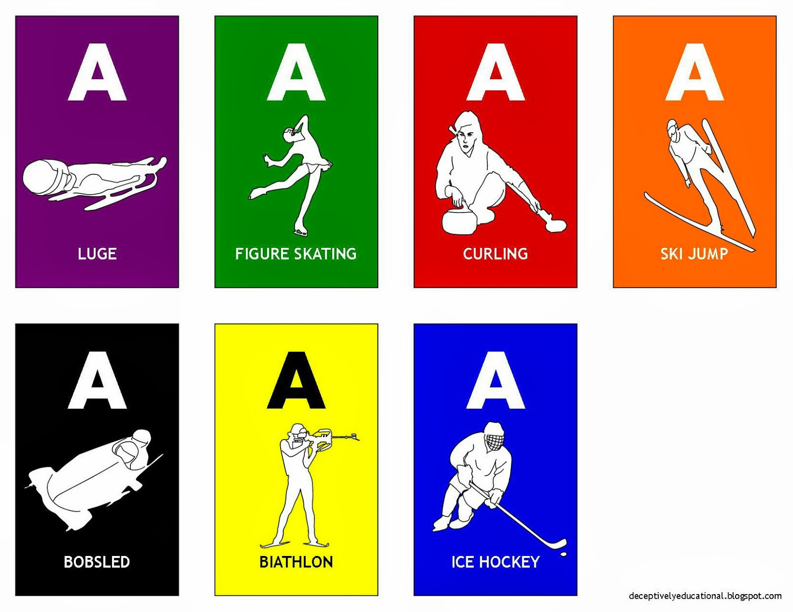 Winter Olympics Having To Relearn All >> Relentlessly Fun Deceptively Educational Olympic Winter Games Bingo