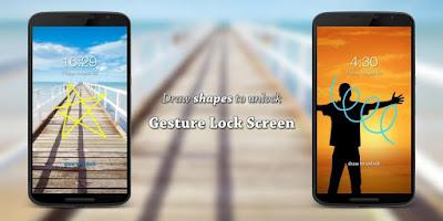 تحميل تطبيق Gesture Lock Screen Pro,