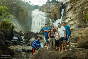 Group photo at Mallalli Water Falls