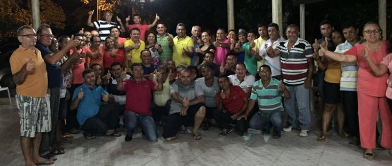 Anapurus! Partidos PCdoB, PMN, SD e PSD decidem apoiar a pré-candidatura de Júlio César para prefeito.