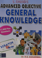 Advanced objective general knowledge book
