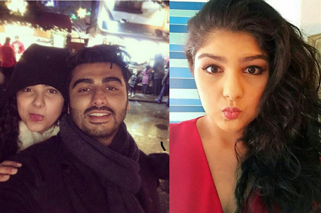 This photo of Arjun Kapoor and his sister Anshula Kapoor
