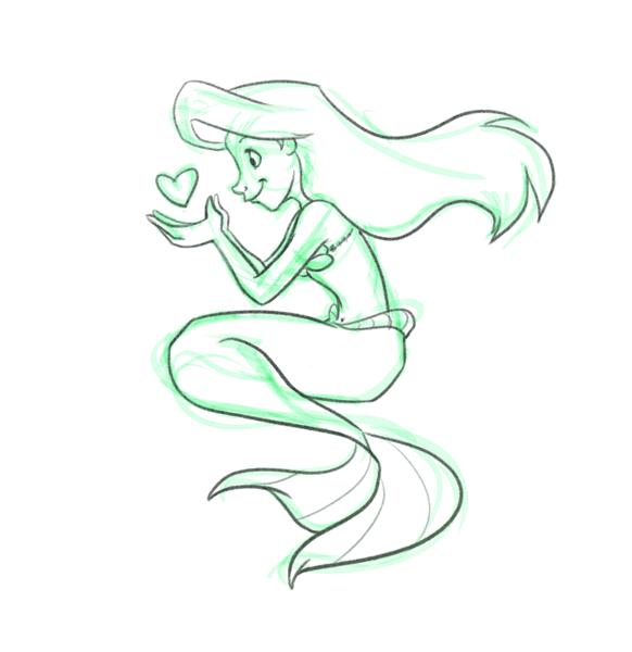 Disney Princess Ariel Drawings Easy - coloring.download