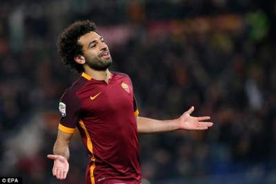 Former Spurs target Mohamed Salah. may be for sale